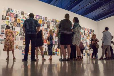 The Artists' Trust exhibition at MOCA Cleveland, event photography, event photography